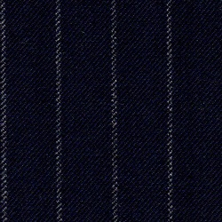 Cloth Pure Wool Stripe Blue