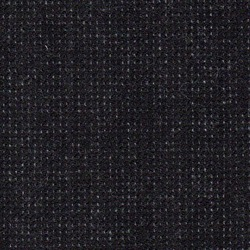 Cloth Pure Wool Pindot Black