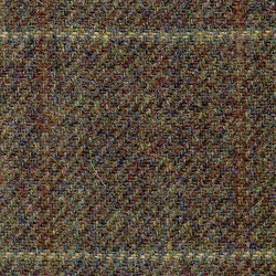 Cloth 100% Lambswool Windowpane Brown