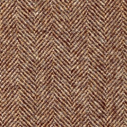 Cloth 100% Lambswool Herringbone Brown