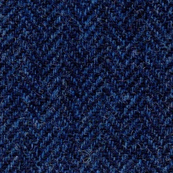 Cloth Pure Wool Herringbone Blue