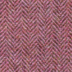 Cloth Pure Wool Herringbone Red
