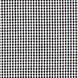 Cloth 55% Silk 45% Wool Super 120s  Houndstooth Black/White