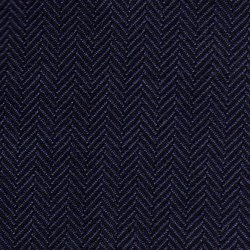 Cloth 55% Silk 45% Wool Super 120s  Herringbone Blue