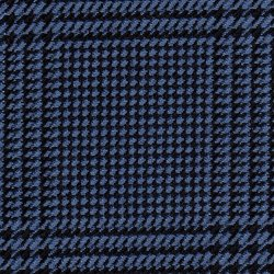 Cloth 55% Silk 45% Wool Super 120s  Plaid Blue