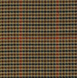 Cloth 55% Silk 45% Wool Super 120s  Houndstooth Brown
