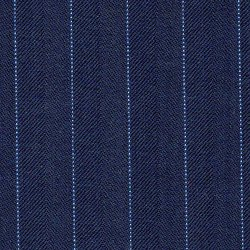 Cloth Wool Super 120s Stripe Blue