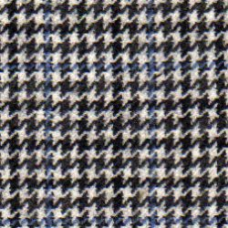 Cloth Wool Super 100s & Cashmere Houndstooth Black/White