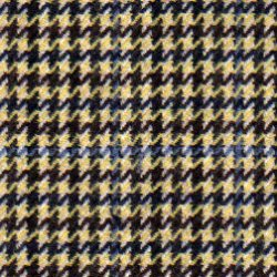 Cloth Wool Super 100s & Cashmere Houndstooth Yellow