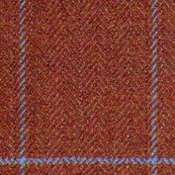Cloth Wool Super 100s & Cashmere Herringbone Red